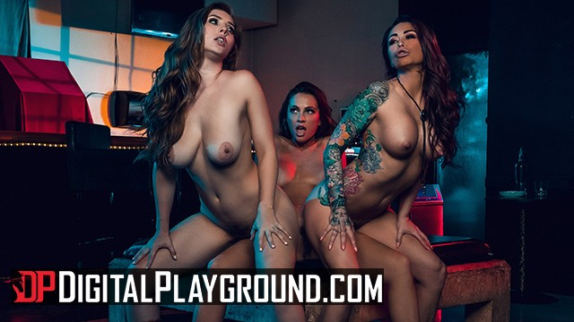Adult biker bar in waynesville nc Digital playground - lesbian biker threesome in the grindbar