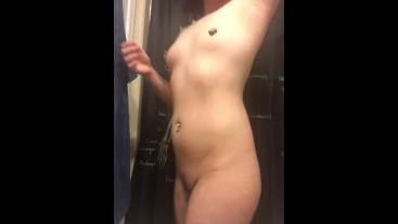 im back!! | ftm quick teasing vid before my shower