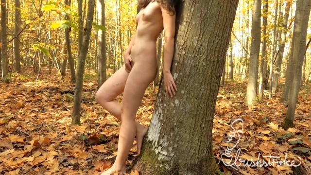 Naked pollyanna woodwood Celebrating 1m views masturbating naked in the woods