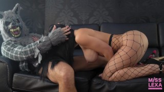 Red Riding Hood gets fucked by the big bad Wolf - 4K