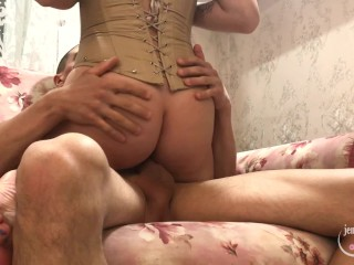Naughy Teen Likes Blowjob And Sex With Cum On Her Ass