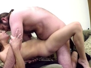 Hottest new amateur getting facefucked and pounded with...