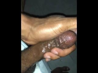 Creamy masturbating...