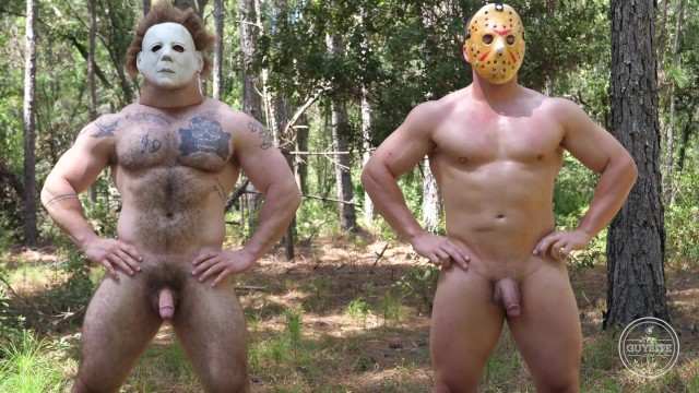 Black gay porn sites - The guy site halloween special w/ hunky bodybuilder michael myers jack 5