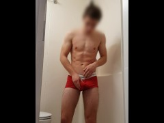 19 Year Old Male Omorashi Pee Desperation