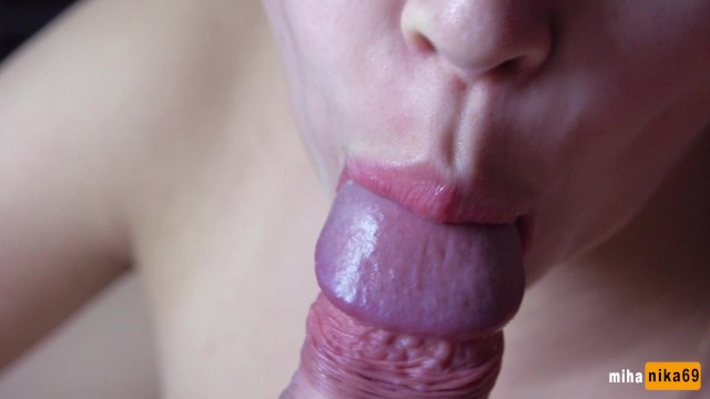 Close hand job Suddenly he cum in my pussy and then cum again - close-up 4k