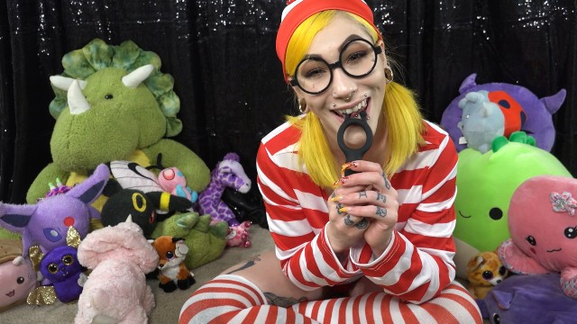 Sex toy instruction Vibrating cock ring joi from slightly legal toyswheres waldo cosplay