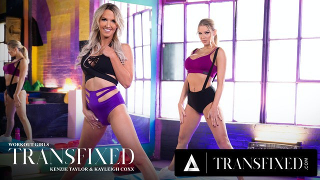 Romantic adult getaway Adult time transfixed at the gym with kenzie kayleigh