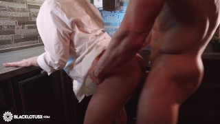 Redhead Sloppy Blowjob Dick Boyfriend and Hard Rough Sex in the Kitchen