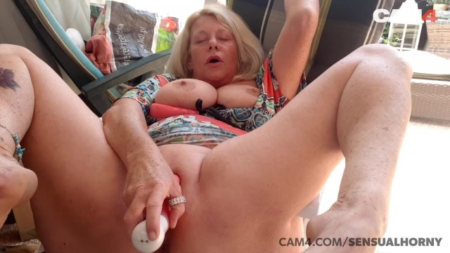 Over 50 mature cum licker Mature 50 year old milf squirts all over her dildo cam4