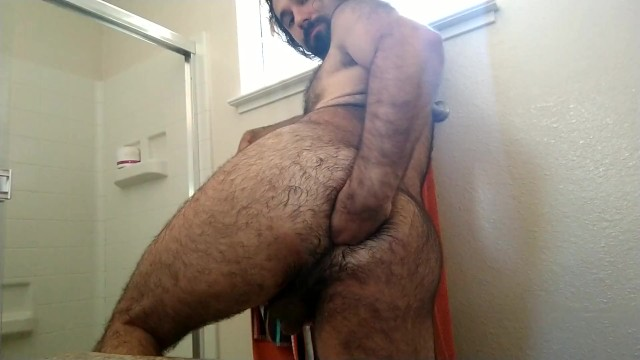Free very hairy gay bears - Best morning: man in ecstasy from fisting ass, cums twice hands free