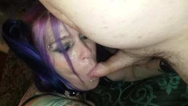 Taking multiple cocks like a good girl