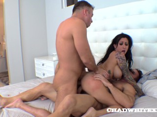 Hot Lily Lane DP Chad White Johnny Castle Take Turns Part 4