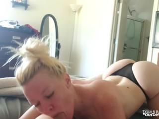 Early Morning Blowjob Cum Swallow – OurDirtyLilSecret