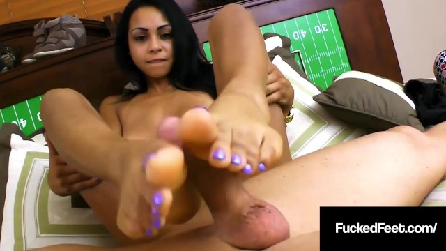 Small brown marks on penis skin Brown skinned babe gulliana alexis slides soles on hard cock