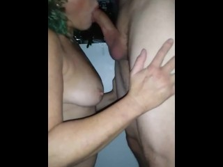 Amature Milf Gets Facial From Stranger