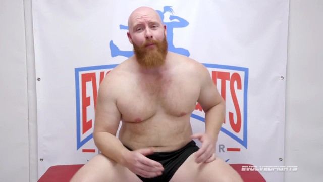 Bella Rossi battles Thor in nude wrestling fight and fuck - Evolved Fights 3