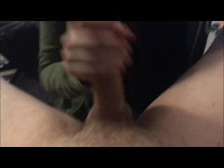 My Neighbor gags on my Cock