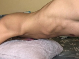 Guy Fucking Pillow While Moaning And Dirty Talking - Cum Handsfree 4K