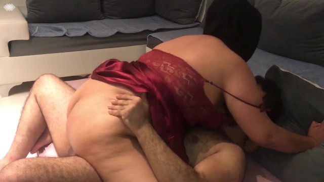 SCANDAL ! CHEATING HIJAB PREGNANT WIFE FUCKED BY WORKER ! 6