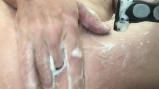 Shaving cock, Ass play always, Getting ready for you......