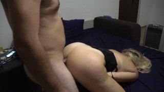A night with a crazy milf - Part 3 - Ass fucked and licking balls