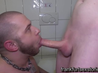 Blows monster cock...
