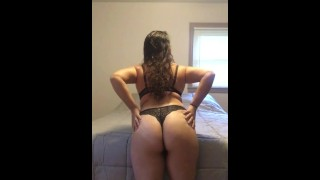 Rubbing my Thick Ass