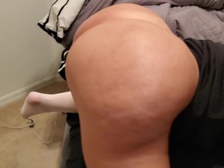 Young Sexy curvy Flight Attendant takes dick in pussy