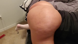 Sexy curvy Flight Attendant takes dick in pussy