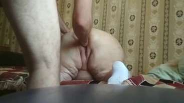 came to visit his mother-in-law and fucked her in the fat ass
