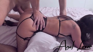 DEEP PAINFUL ANAL, I SCREAM WHEN MY SMALL ASS IS DEFLOWERED - Anal lover 4K