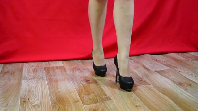 On high heels 1