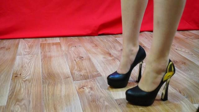 On high heels 33
