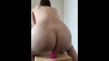 Ass being punished for disobeying