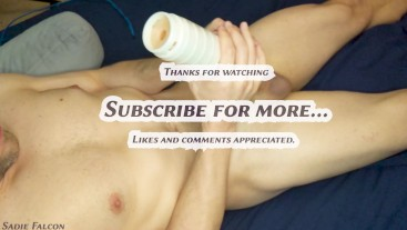Relaxing Erotic ASMR - 50% Speed, View from Above, NO climax
