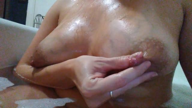 Veins breast Milk filled titties with beautiful veins
