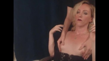Having my breasts massaged while smoking a VS120