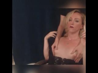 Having my breasts massaged a vs120...