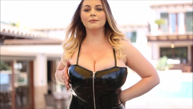 Enjoy staring at Holly Garden enormous boobs while she uncovers 1