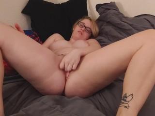 Masturbating til I squirt