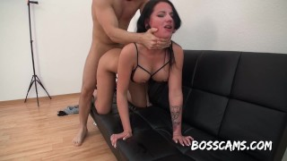 JOLEE LOVE - HER FIRST ANAL PORNOCASTING WITH MASSIVE FACIAL