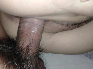 Young Woman Fucking And Creampie Cum Inside Her