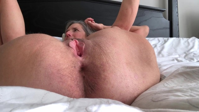Hot Milf Squirts And Dildos Hubby Jacks Off Drops Big Load 24