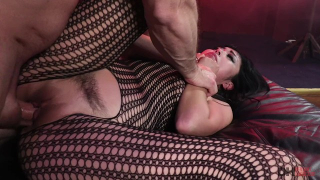 Asian;Babe;Bondage;Brunette;Hardcore;Pornstar;Rough Sex bondage, rough-sex, hardcore, fishnet-bodysuit, toy, blowjob, deepthraot, missionary, trimmed-pussy, doggystyle, round-ass, big-ass, cowgirl, reverse-cowgirl, cum-on-mouth, asian, brunette