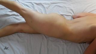 Amazing Crossed Legs Masturbation, Real Female Orgasm ~DirtyFamily~