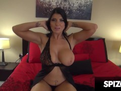Hot Tattooed MILF Romi Rain gets her Face and Pussy Fucked - PornGoesPRO