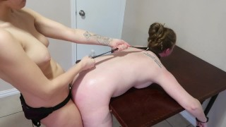 Handcuffed and anal fucked with choking teaser