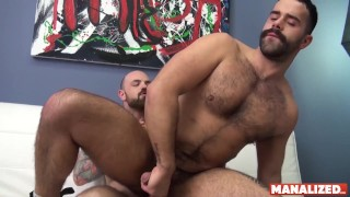 MANALIZED French Teddy Torres Banging Big Cock Before Facial