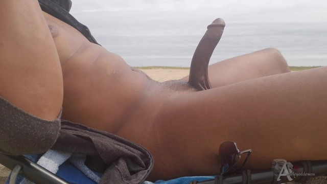 Condom erect penis - Nude beach erection jerking off in public